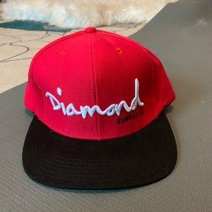 Diamond supply Co SnapBack. Never worn